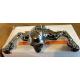 """7"""" Headlamp Visor Ornament Skull Type Chrome"""