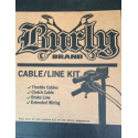 BURLY APEHANGER CABLE/LINE KIT
