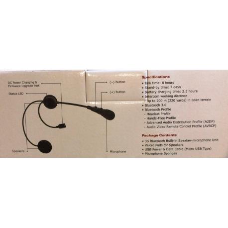 Sena 3s Bluetooth headset & intercom