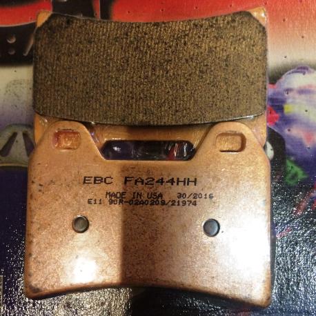 pm brake pads 137x4