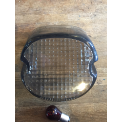 LAYDOWN TAILLIGHT LENS, LIGHT SMOKE