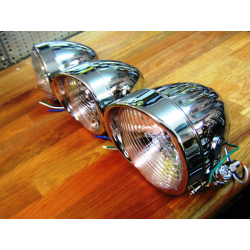 Bullet headlamps.