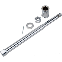 Front axle for Star hub with tapered roller bearings