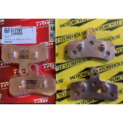 BRAKE PADS, FRONT 08-11 Dyna/softail