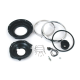 7 INCH HEADLIGHT ASSY AND TRIM KIT