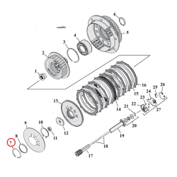 RETAINING RING, CLUTCH