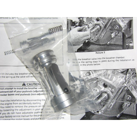 Breather s&s reed valve
