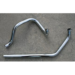 independent dual head pipes