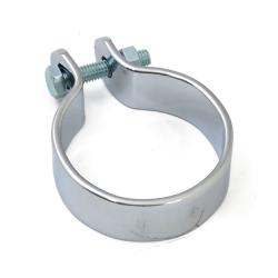 "Muffler middle clamp 1-7/8"" chrome"