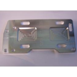 """1/2"""" offset transmission plate"""