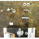 pivot pins kobling/bremse greb