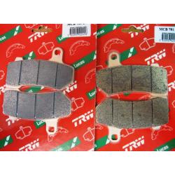 Forreste/bagerste Bremseklosser 06-10 v-rod; 08-10flt