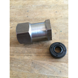 nut eller seal clutch hub