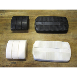 Brake pedal rubber pad