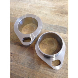 Exhaust flange set shovel