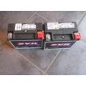 Batterier og lader