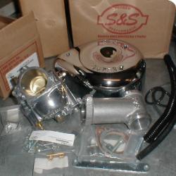 s&s carburetor panhead super E.
