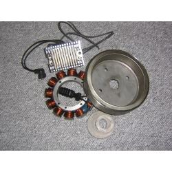 Highperformance charging system from volt tech.