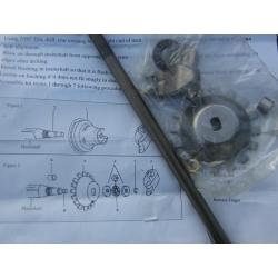 Pushrod, clutch kit