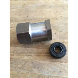 nut & seal clutch hub